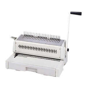 New Tamerica Durabind 242 14 Legal Plastic Comb Binding Machine Free Shipping
