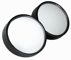 2 Adjustable Stick On Blind Spot Wide Side View Angle Mirrors For Auto Car