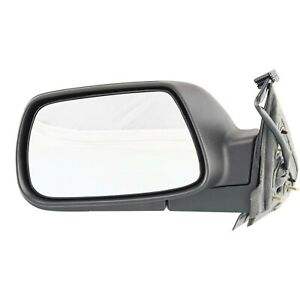 Power Mirror For 2005 2010 Jeep Grand Cherokee Driver Side Textured Black