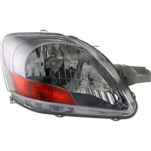 Headlight For 2007 2011 Toyota Yaris Base Sedan Right With Sport Package