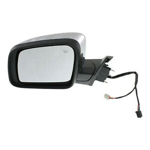 Mirror For 2011 2016 Jeep Grand Cherokee Driver Side Heated Chrome With Memory
