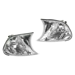Corner Light Clear Lens Left And Right For Bmw 00 00 323ci 328ci 2001 01 325ci