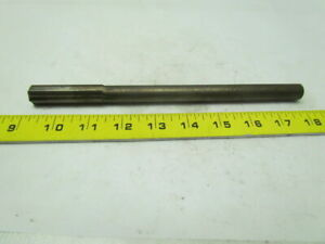 6562 X 9 Oal 6 Straight Flute Carbide Tipped Chucking Reamer