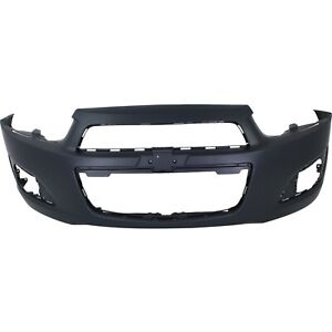 Front Bumper Cover For 2012 2016 Chevy Sonic W Fog Lamp Holes Primed