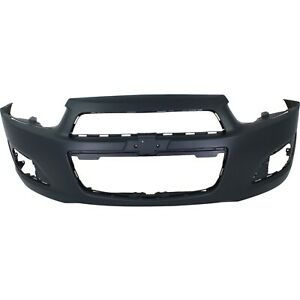 Front Bumper Cover For 2012 2016 Chevy Chevrolet Sonic Primed Gm1000928 95245182