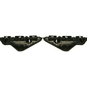 Bumper Retainer Set For 2007 2012 Toyota Yaris Front Side Cover 2pc