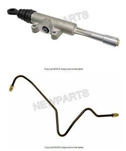 For Bmw E36 Clutch Master Cylinder Kit feed Line Pipe Hydraulic Input Piston