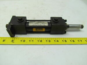 Parker 01 00kj3llu29292 000 Hydraulic Cylinder 1 Bore 2 Stroke Double Ended