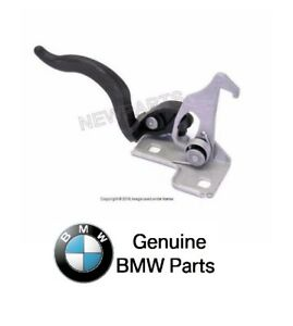 New For Bmw E53 00 03 Hood Safety Catch release Handle Oem Engine Lid Latch Hook