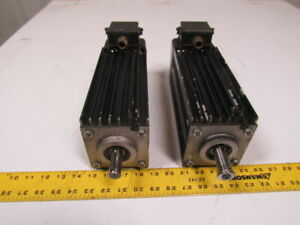 Biesse 1 8hp Servo Motor 330 575v 60hz From Rover Cnc Lot Of 2