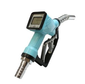 Trubine Mechanical Gas Diesel Digital Fuel Nozzle W accuracy Lcd Reading Meter