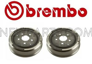 2 For Bmw 2002 1969 1972 1973 1976 2002tii 1974 Rear Left Right Rear Brake Drum