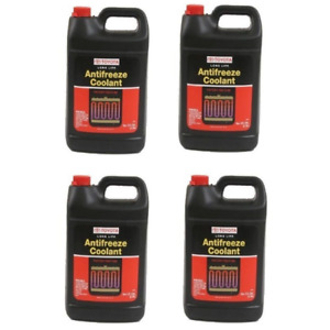 4 Gallon Pack Fits Toyota Red Long Life Engine Coolant Antifreeze Fluid Kit