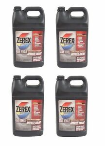 For 4 Gallons Pack Zerex Engine Coolant Antifreeze Fluid Pink For Lexus Toyota