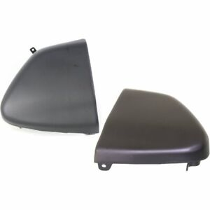 Pair Set Of 2 Bumper Face Bar Ends New Rear Right and left Chevy S10 Pickup
