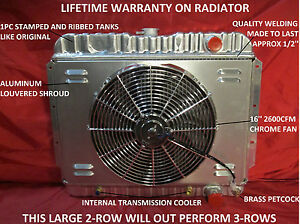 1959 1960 1961 1962 1963 Chevrolet Full Size Car El Camino Radiator Shroud Fan