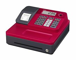 Casio Se g1sc rd Thermal Printing Red Cash Register Sg 1 1 Line Lcd 8 Dept