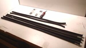 Ford Model A Tudor Coupe Pickup Door Glass Window Channel Run Kit 1928 1931