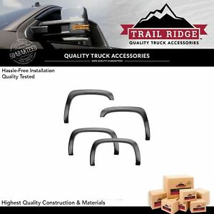 Trail Ridge Fender Flare Kit Bolt On Factory Style Smooth Black For Chevy 1500