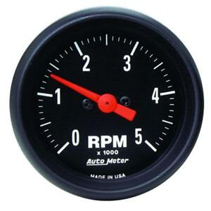 Auto Meter Tachometer Gauge 2697 Z series 0 To 5000 Rpm 2 1 16 Electrical