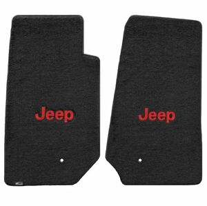 Lloyd Mats Velourtex 2 Pc Floor Mat Set Black 2007 2013 Jeep Wrangler Unlimited