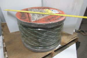 3 4 Dia Wire Rope cable Aprox 500 Ft 6x36 Const Bulk Sling Choker Winch Line