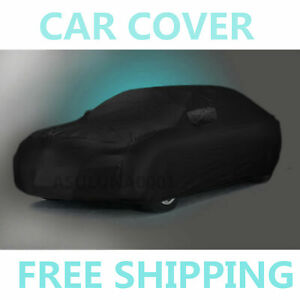 Stormproof Outdoor Waterproof Breathable Black Car Cover For Bmw 3 Series