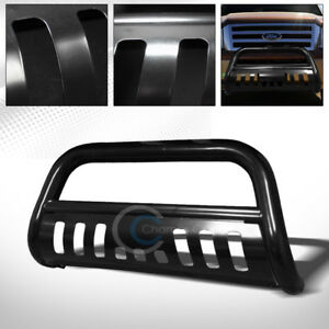 Fit 04 18 Ford F150 03 17 Expedition Blk Bull Bar Brush Push Bumper Grille Guard