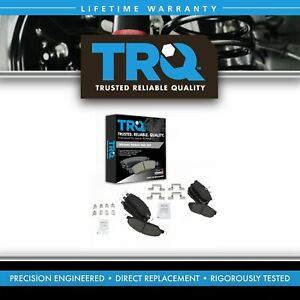 Trq Front Rear Posi Ceramic Disc Brake Pad Kit For Ford Mustang New
