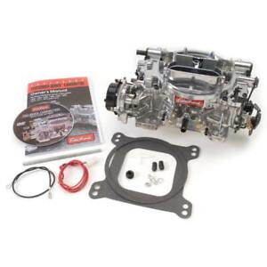 Edelbrock Carburetor 1826 650 Cfm 4 Barrel Vacuum Secondary Satin