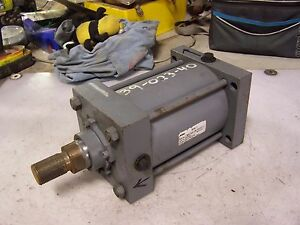 New Miller Hydraulic Cylinder 5 Bore 5 Stroke 1 2 Npt 950 Psi
