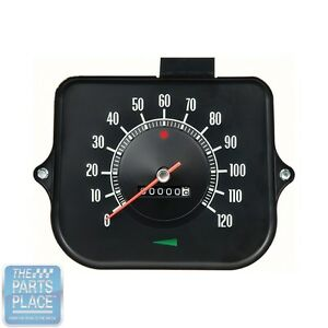 1968 68 Chevelle El Camino In dash Speedometer Without Speed Warning Each