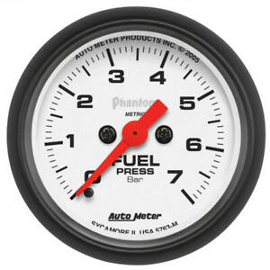 Auto Meter Fuel Pressure Gauge 5763 m Phantom 0 To 7 Bar 2 1 16 Electrical