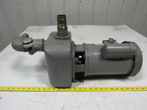 Price Pump Co Type Sp150 3 4 Hp 3 Ph Centrifugal Pump motor 1 1 2 Ports