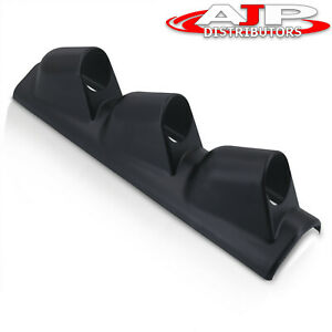 Universal Triple 3 Hole A Pillar Gauge Meter Pod Drift Race Boost Display Holder