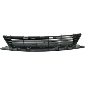Bumper Grille For 2009 2011 Honda Civic Coupe Center Textured Black Aluminum