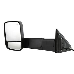 Power Towing Mirror For 2013 2018 Ram 1500 2012 2018 Ram 3500 Left Black