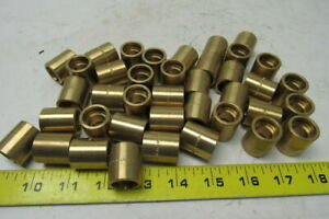 13840 3 8 Brass Female To Female Coupling W stop Lot Of 39