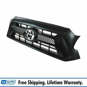 Oem Sport Grille And Emblem Magnetic Gray Paint Code 1g3 For Toyota Tacoma New
