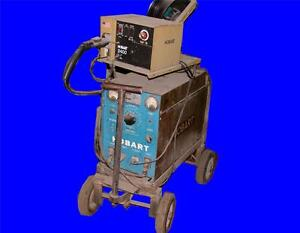 Very Nice Hobart 200 Amp Welder Model Rc 256 With 2400 Wire Feed 230 460 Volts