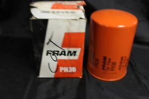 Vintage Nos Fram Oil Filter Ph 36 Caterpillar M F Steiger
