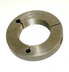 Cadillac Gage Company Thread Ring Gage 3 250 20 ns Go