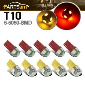 10xclearance Cab Marker Roof Top Light 5050 194 Led Bulb For Hummer H2 Suv 03 09