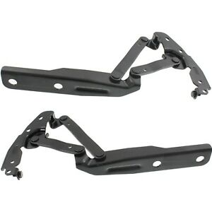 New Hood Hinges Set Of 2 Driver Passenger Side Town And Country Lh Rh Pair