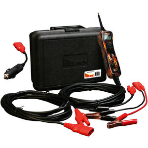 Power Probe 3 Iii Pp319fire Flame Powerprobe Kit W voltmeter And Accessories