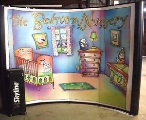 Skyline Mirage Trade Show Display Popup Cases Make A Table the Bedroom Nursery