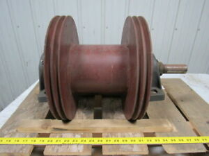 Industrial Steel Cable Spool reel 2 Shaft 14 Dia 10 1 4 Wide 6 3 4 Dia Core