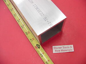 3 x 3 x 1 4 Wall Aluminum Square Tube 48 Long 6061 T6 3 Sq X 250 Tubing