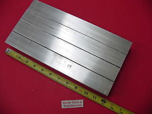 4 Pieces 1 1 2 x 1 1 2 x 1 8 Wall X 12 Long Aluminum Square Tube 6063 T52