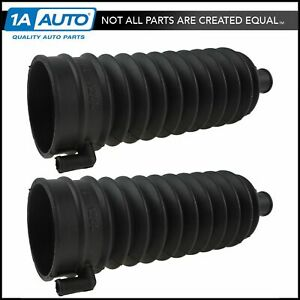 Steering Rack Pinion Boot Bellow Lh Rh Pair For Ford Lincoln Mercury New